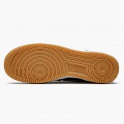 Nike Air Force 1 07 Black White Gum CI0057 002 Unisex Casual Shoes