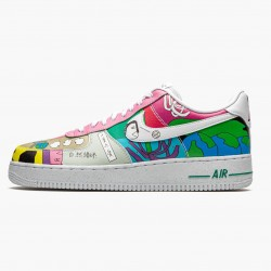 Nike Air Force 1 Flyleather Ruohan Wang CZ3990 900 Unisex Casual Shoes