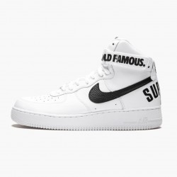 Nike Air Force 1 High Supreme World Famous White 698696 100 Unisex Casual Shoes