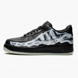 Nike Air Force 1 Low Black Skeleton BQ7541 001 Mens Casual Shoes