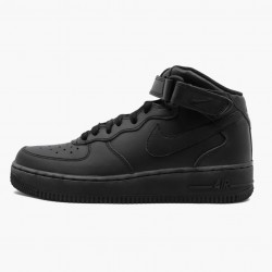 Nike Air Force 1 Mid Black 2014 314195 004 Unisex Casual Shoes