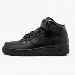 Nike Air Force 1 Mid Black 315123 001 Unisex Casual Shoes