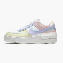 Nike Air Force 1 Shadow White Glacier Blue Ghost CI0919 106 Womens Casual Shoes
