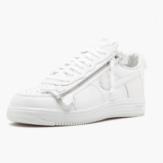 Nike Lunar Force 1 Low Acronym AJ6247 100 Unisex Casual Shoes