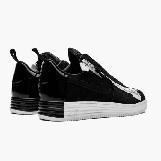 Nike Lunar Force 1 Low Acronym Black White 698699 001 Unisex Casual Shoes