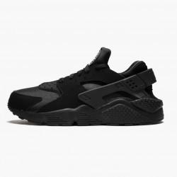 Nike Air Huarache Black Black White 318429 003 Unisex Casual Shoes