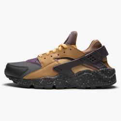 Nike Air Huarache Run Pro Purple Elemental Gold 704830 012 Unisex Casual Shoes