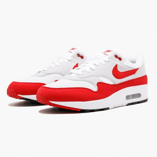 Nike Air Max 1 Anniversary Red 908375 103 Unisex Running Shoes