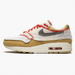 Nike Air Max 1 Inside Out Club Gold Black 858876 713 Unisex Running Shoes