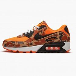 Nike Air Max 90 Duck Camo Orange CW4039 800 Unisex Running Shoes