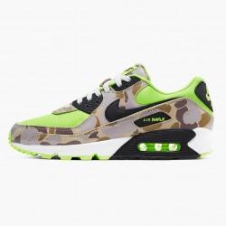 Nike Air Max 90 Green Camo CW4039 300 Unisex Running Shoes