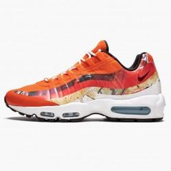 Nike Air Max 95 Dave White Fox 872640 600 Mens Running Shoes