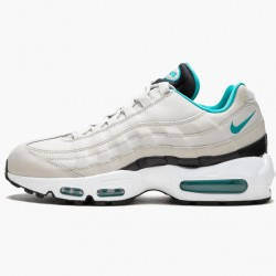 Nike Air Max 95 Light Bone Sport Turqoise 749766 027 Mens Running Shoes