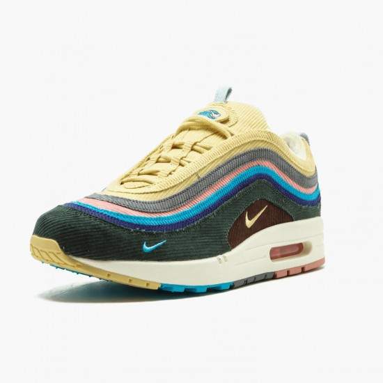 Nike Air Max 1 97 Sean Wotherspoon AJ4219 400 Unisex Running Shoes