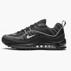Nike Air Max 98 Black Oil Grey 640744 013 Mens Running Shoes