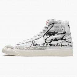 Nike Blazer Mid Comme des Garcons x Naomi Osaka DA5383 100 Unisex Casual Shoes