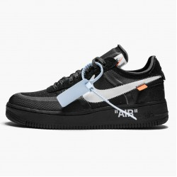Nike Air Force 1 Low Off White Black White AO4606 001 Mens Casual Shoes