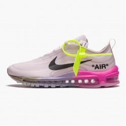 Nike Air Max 97 Off White Elemental Rose Serena Queen AJ4585 600 Mens Casual Shoes