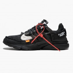 Nike Air Presto Off White Black AA3830 002 Unisex Casual Shoes