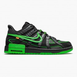 Nike Air Rubber Dunk Off White Green Strike CU6015 001 Unisex Casual Shoes