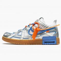 Nike Air Rubber Dunk Off White UNC CU6015 100 Mens Casual Shoes