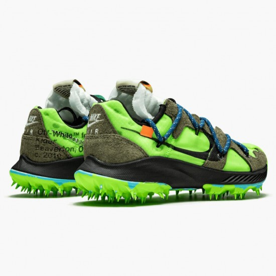 Nike Zoom Terra Kiger 5 OFF WHITE Electric Green CD8179 300 Unisex Casual Shoes