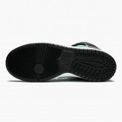 Nike Dunk SB High Diamond Supply Co Tiffany 653599 400 Unisex Casual Shoes