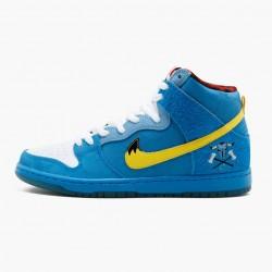 Nike Dunk SB High Familia Blue Ox 313171 471 Mens Casual Shoes