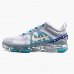Nike Air VaporMax 2019 White University Gold Wolf Grey CI1240 102 Unisex Running Shoes